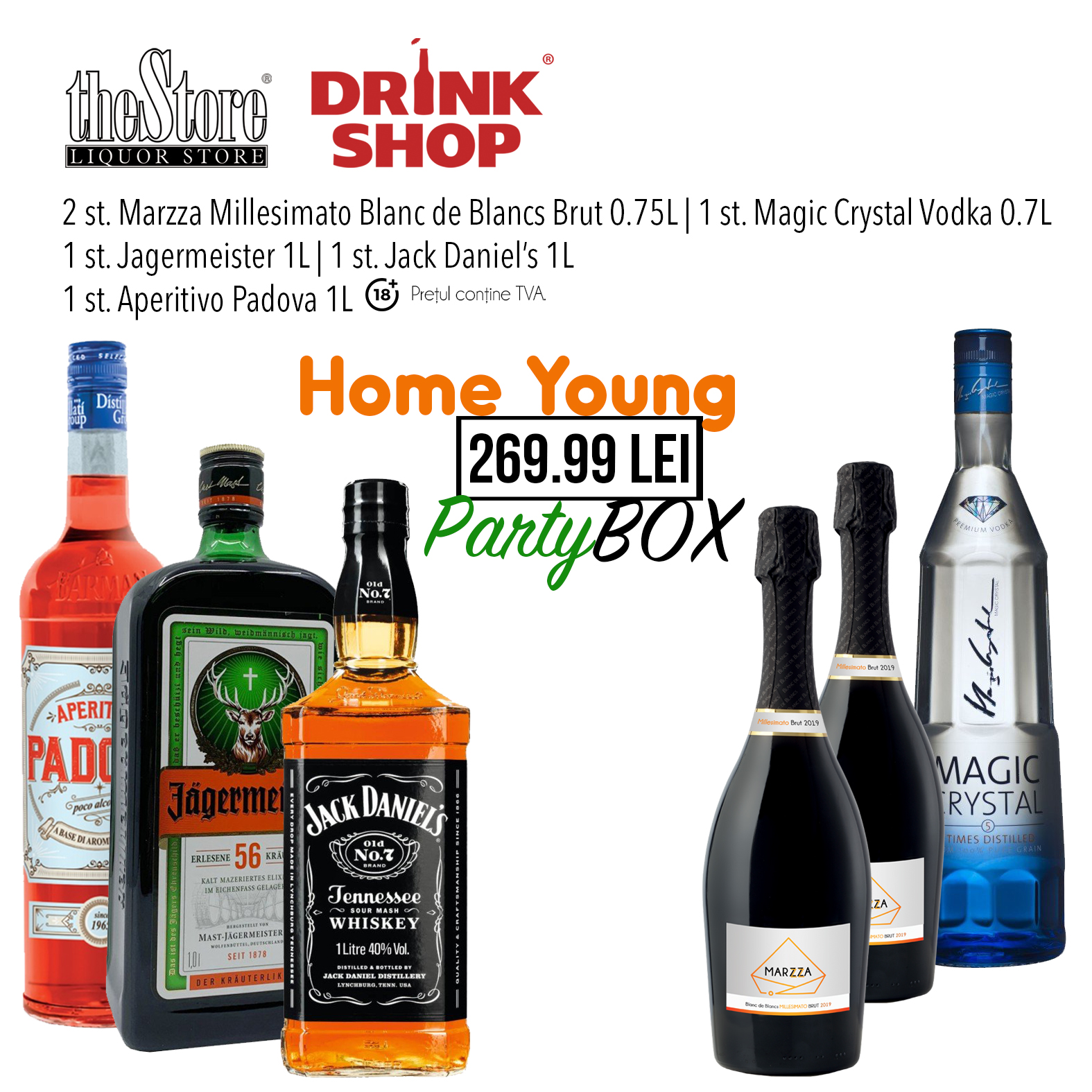 Home Young Party Box