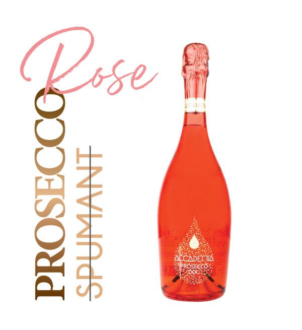 Accademia Prosecco Rose D.O.C. Brut 0.75L
