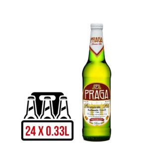 Praga Premium Pils BAX 24 ST. X 0.33L