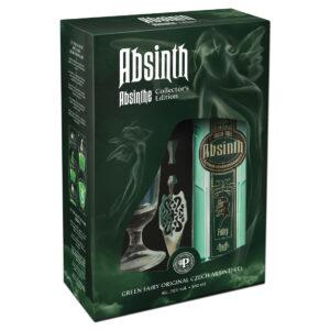 Green Tree Absinth Classic Bohemian Gift Set 0.5L